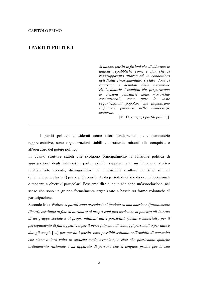 Anteprima della tesi: Partiti e comunicazione politica. Il New Labour e Tony Blair, Pagina 3