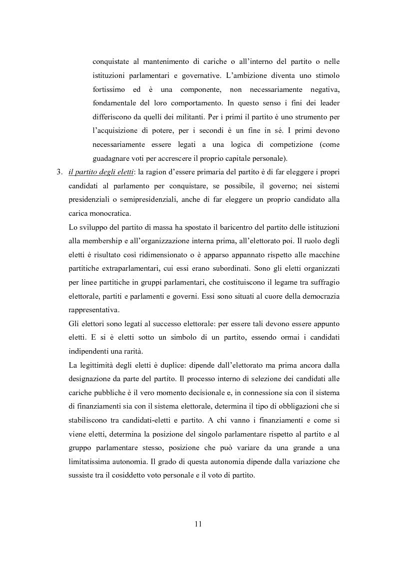 Anteprima della tesi: Partiti e comunicazione politica. Il New Labour e Tony Blair, Pagina 9