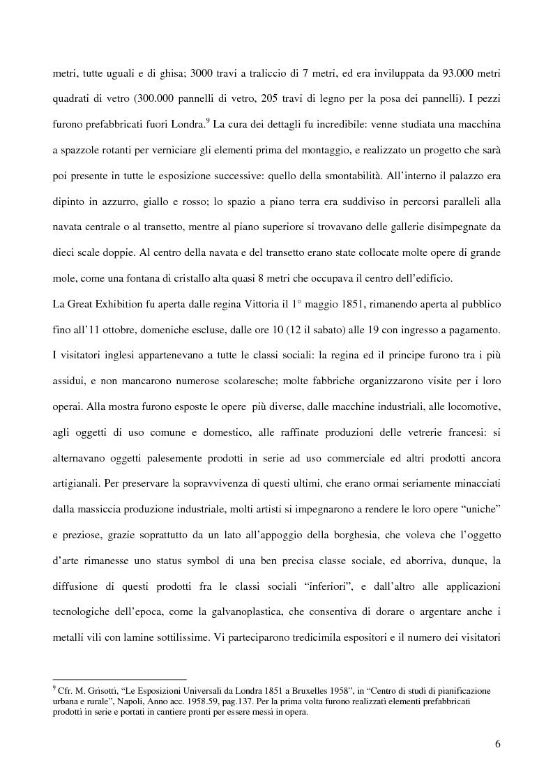 Anteprima della tesi: Affiches Posters Banners: la visibilità delle merci dalle Esposizioni universali ad Internet, Pagina 10