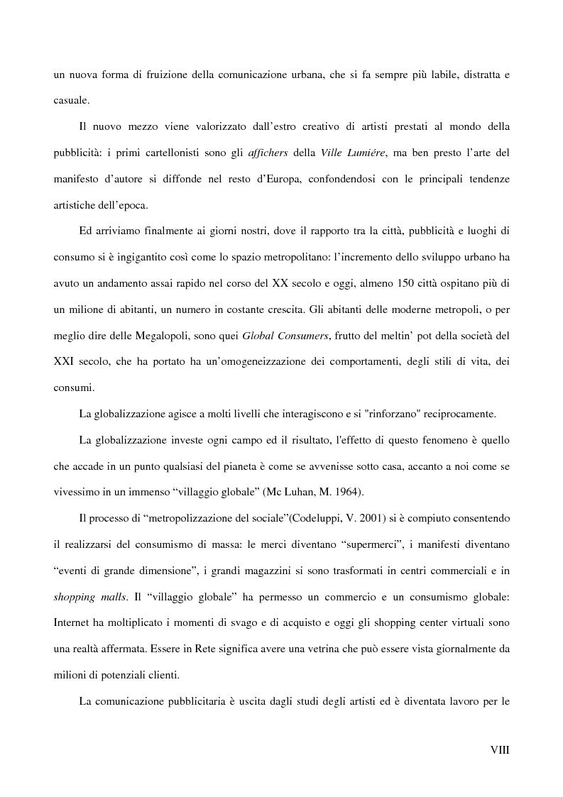 Anteprima della tesi: Affiches Posters Banners: la visibilità delle merci dalle Esposizioni universali ad Internet, Pagina 2