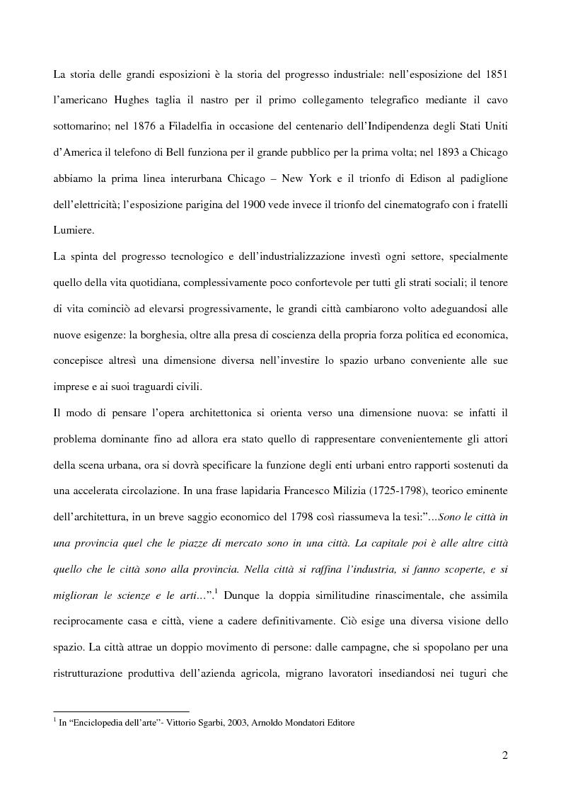 Anteprima della tesi: Affiches Posters Banners: la visibilità delle merci dalle Esposizioni universali ad Internet, Pagina 6