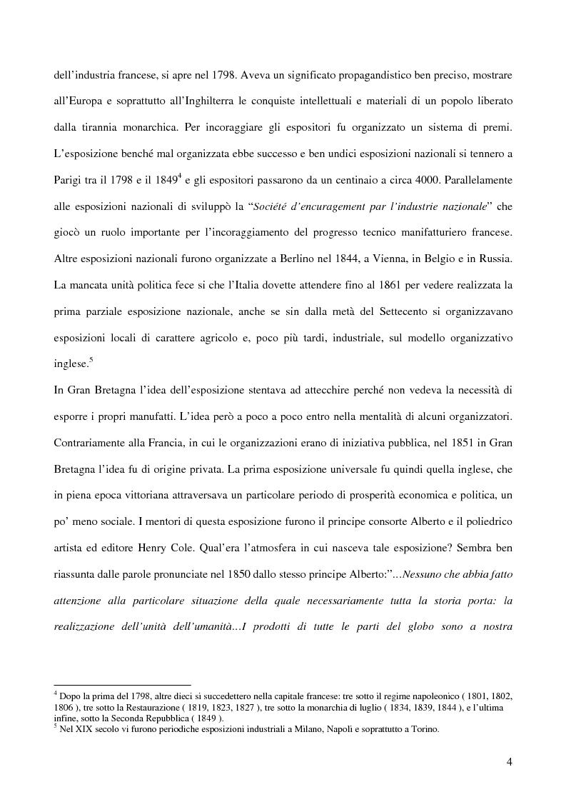 Anteprima della tesi: Affiches Posters Banners: la visibilità delle merci dalle Esposizioni universali ad Internet, Pagina 8