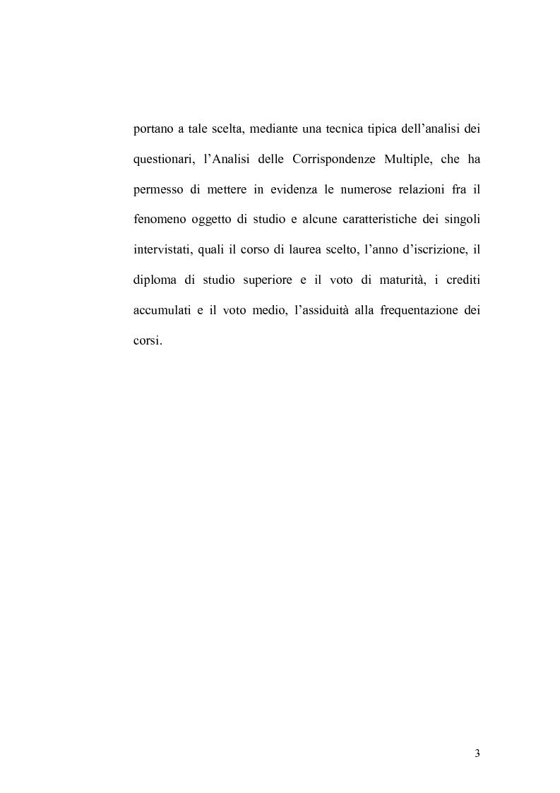 Anteprima della tesi: Indagine statistica sulla nuova laurea triennale, Pagina 3