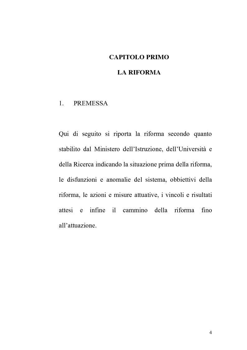 Anteprima della tesi: Indagine statistica sulla nuova laurea triennale, Pagina 4