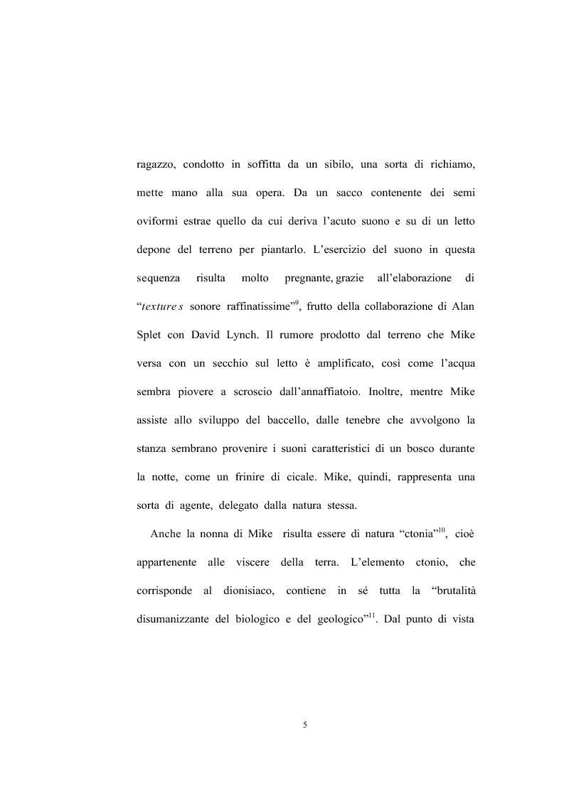 Anteprima della tesi: David Lynch - Universi speculari nel nuovo noir hollywoodiano (1969-1992), Pagina 7