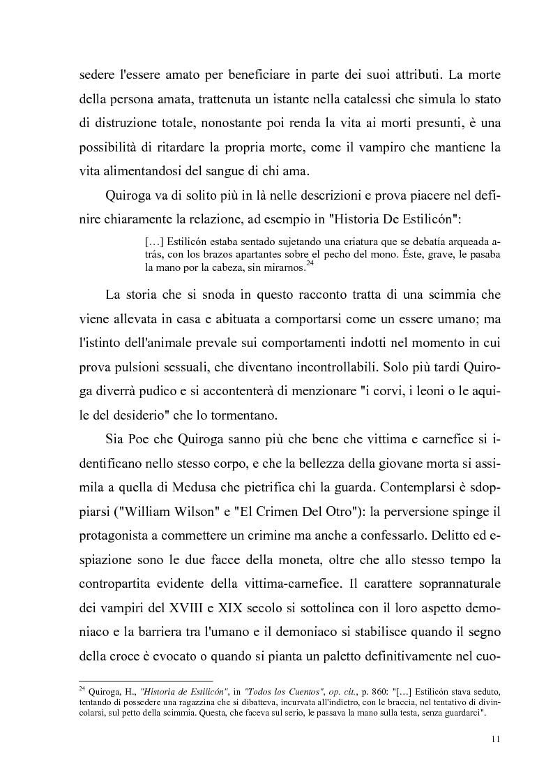 Anteprima della tesi: Due ''filosofie'' dell'orrore: Horacio Quiroga e Howard Phillips Lovecraft, Pagina 11