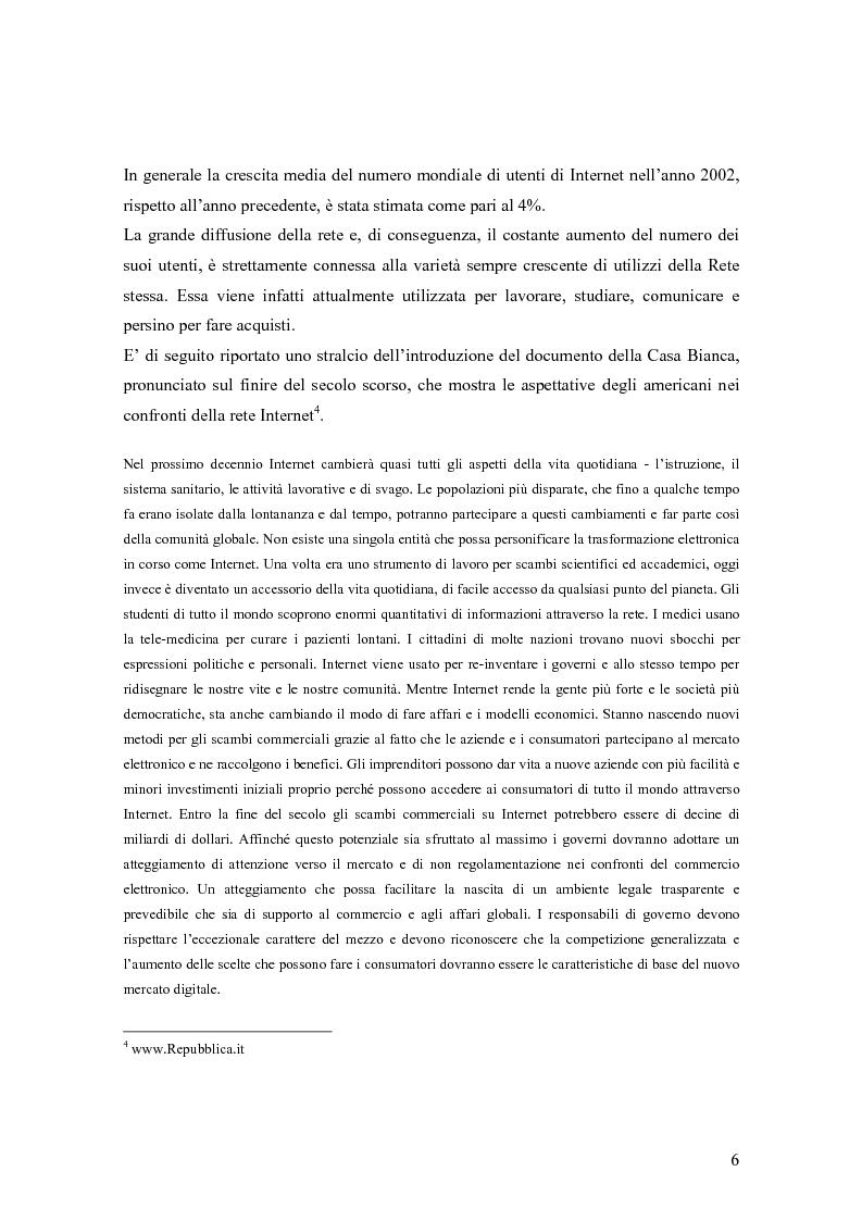 Anteprima della tesi: Le donne e Internet: il digital divide di genere, Pagina 3