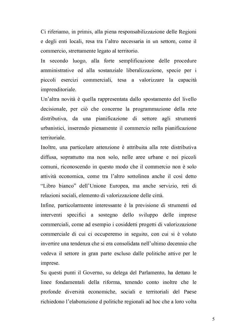 Anteprima della tesi: La discrezionalità amministrativa nella disciplina del commercio al dettaglio in sede fissa, Pagina 2