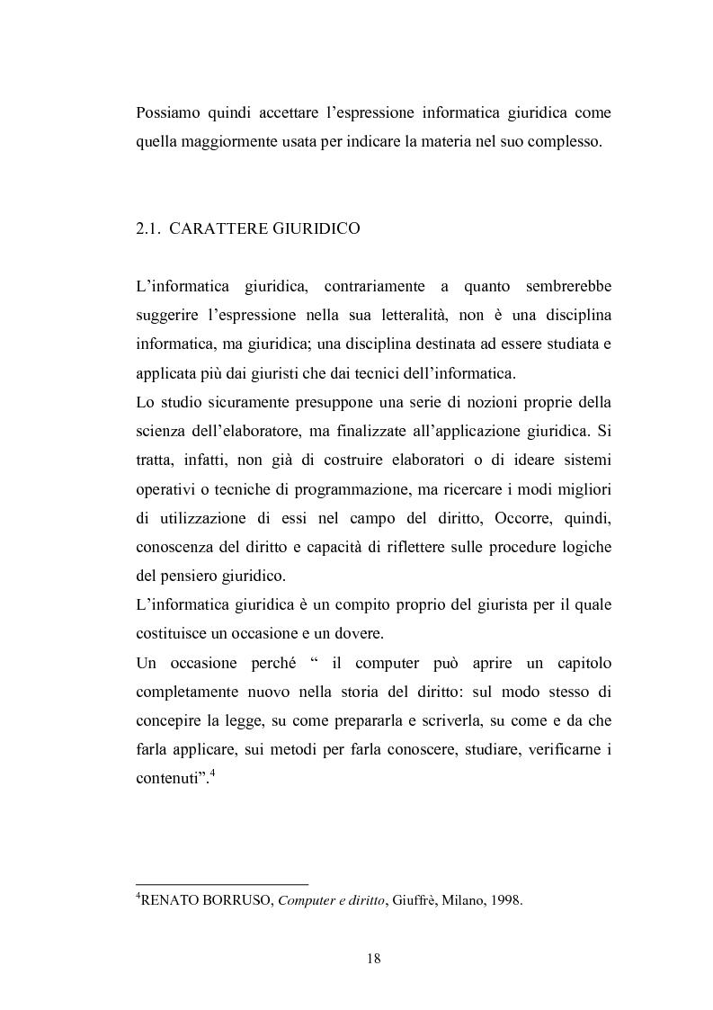 Anteprima della tesi: Problemi giuridici della teleamministrazione e atto elettronico, Pagina 12