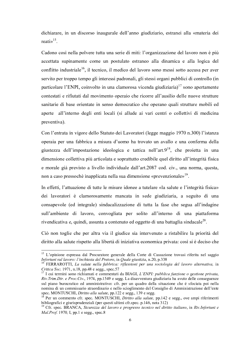 Anteprima della tesi: Gli obblighi del d.lgs 626/94: i soggetti innovativi, Pagina 9