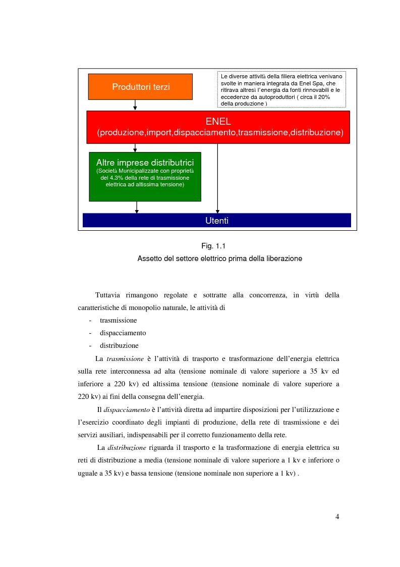 Anteprima della tesi: Evoluzione del Sistema Elettrico Nazionale e analisi di modelli di ottimizzazione applicati al mercato dell'energia elettrica, Pagina 4