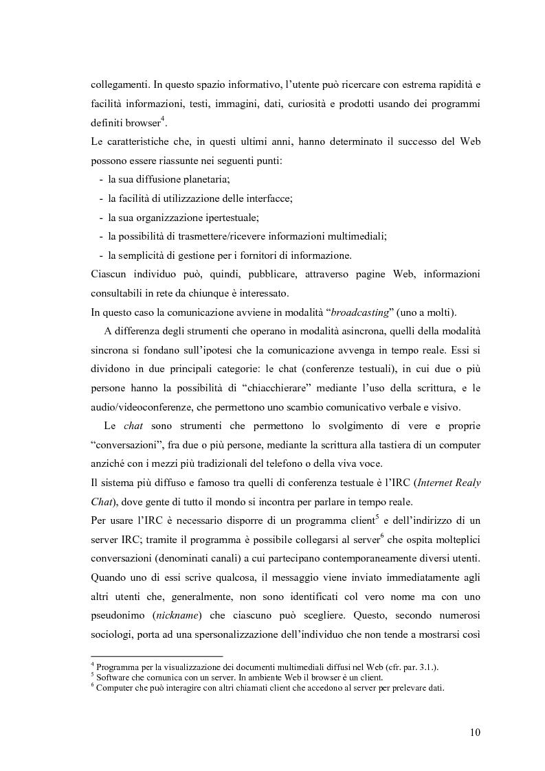 Anteprima della tesi: Grafica e Web: nuove forme di comunicazione nell'attuale panorama tecnologico, Pagina 9