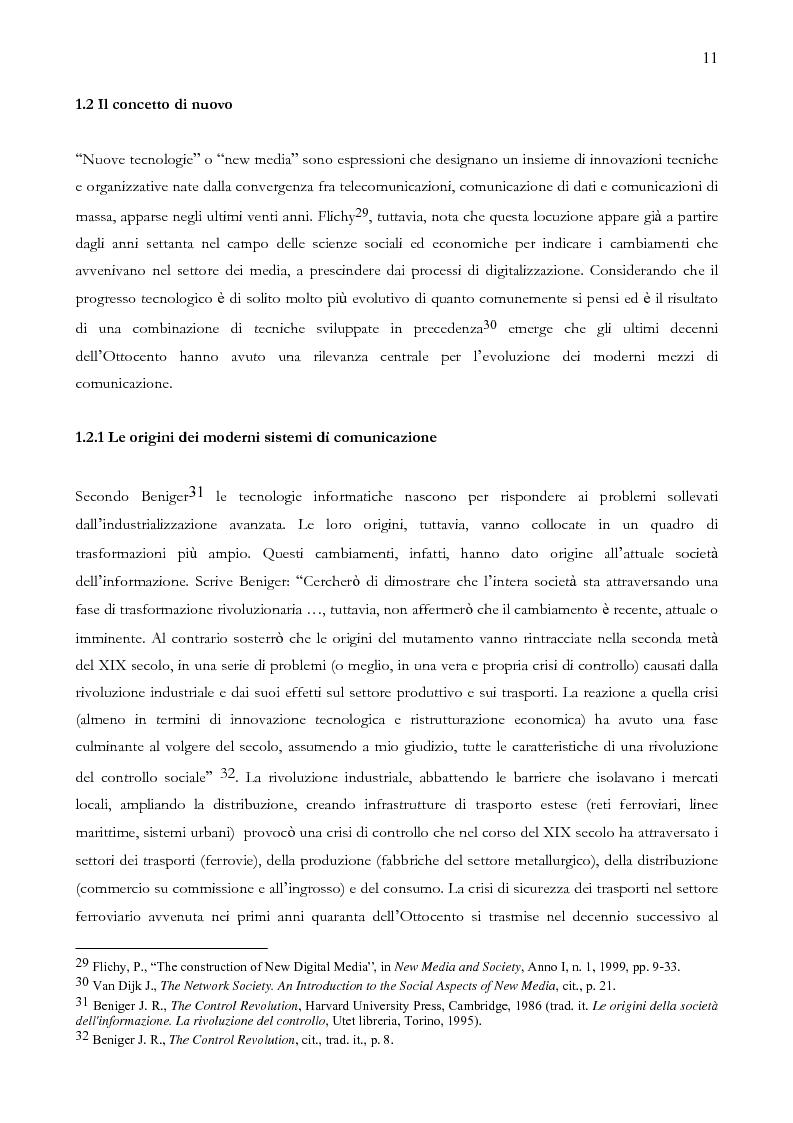Anteprima della tesi: Quando il sito è vincente. Il caso di Winnerland.com, Pagina 11