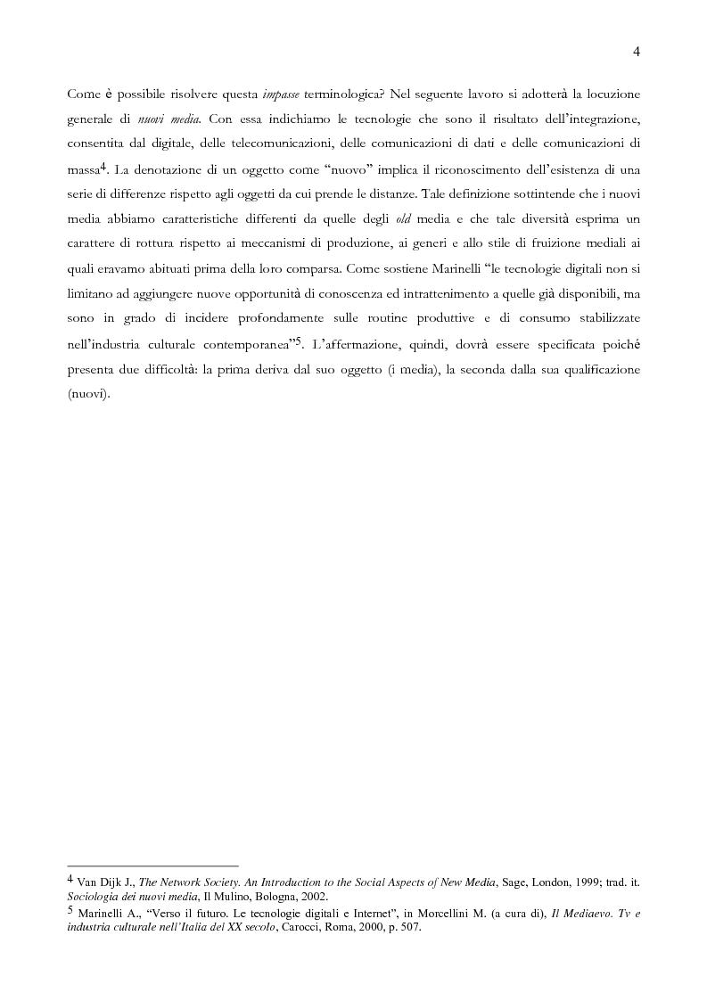 Anteprima della tesi: Quando il sito è vincente. Il caso di Winnerland.com, Pagina 4