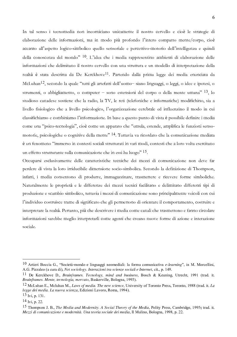 Anteprima della tesi: Quando il sito è vincente. Il caso di Winnerland.com, Pagina 6