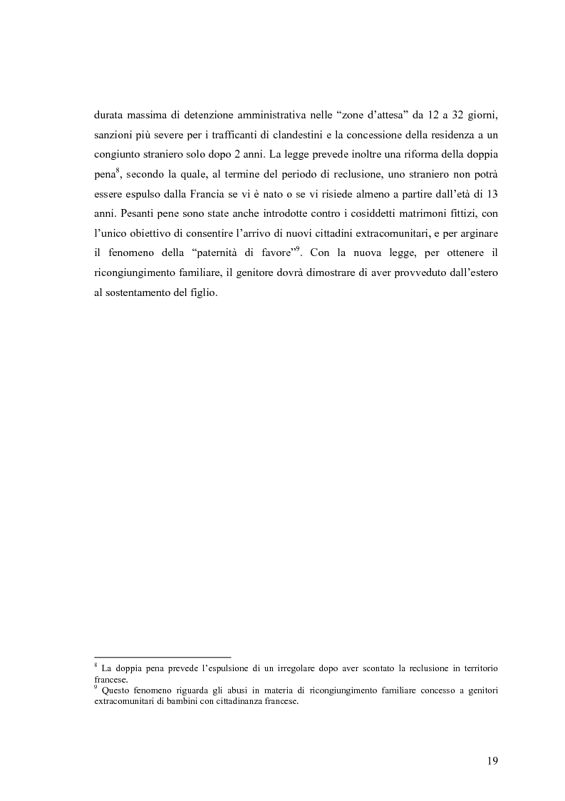 Anteprima della tesi: L'interpretazione in campo sociale: analisi di un'esperienza parigina, Pagina 15