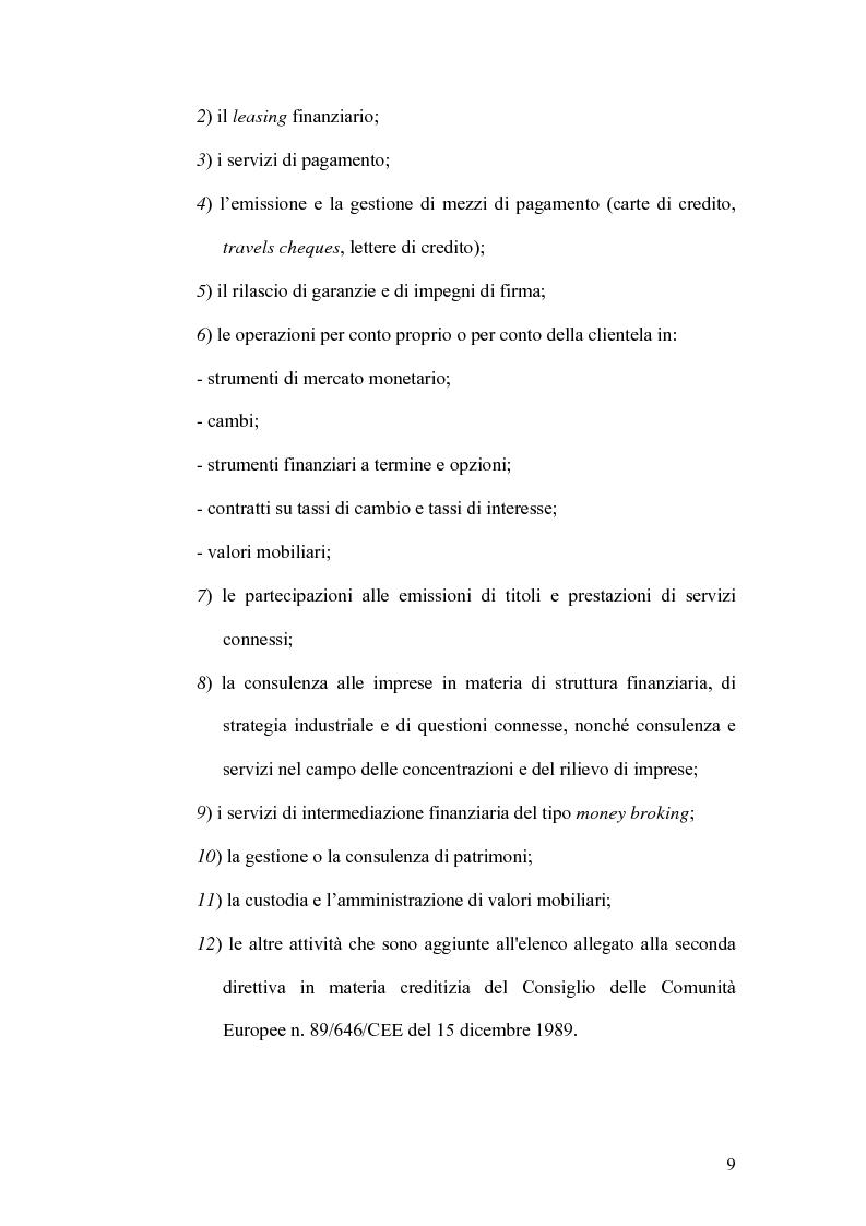 Anteprima della tesi: Indicatori strategici per la gestione delle imprese di finanziamento, Pagina 6