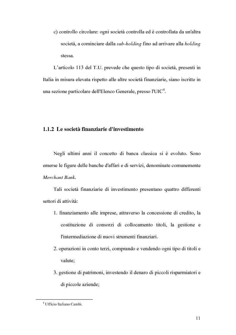 Anteprima della tesi: Indicatori strategici per la gestione delle imprese di finanziamento, Pagina 8