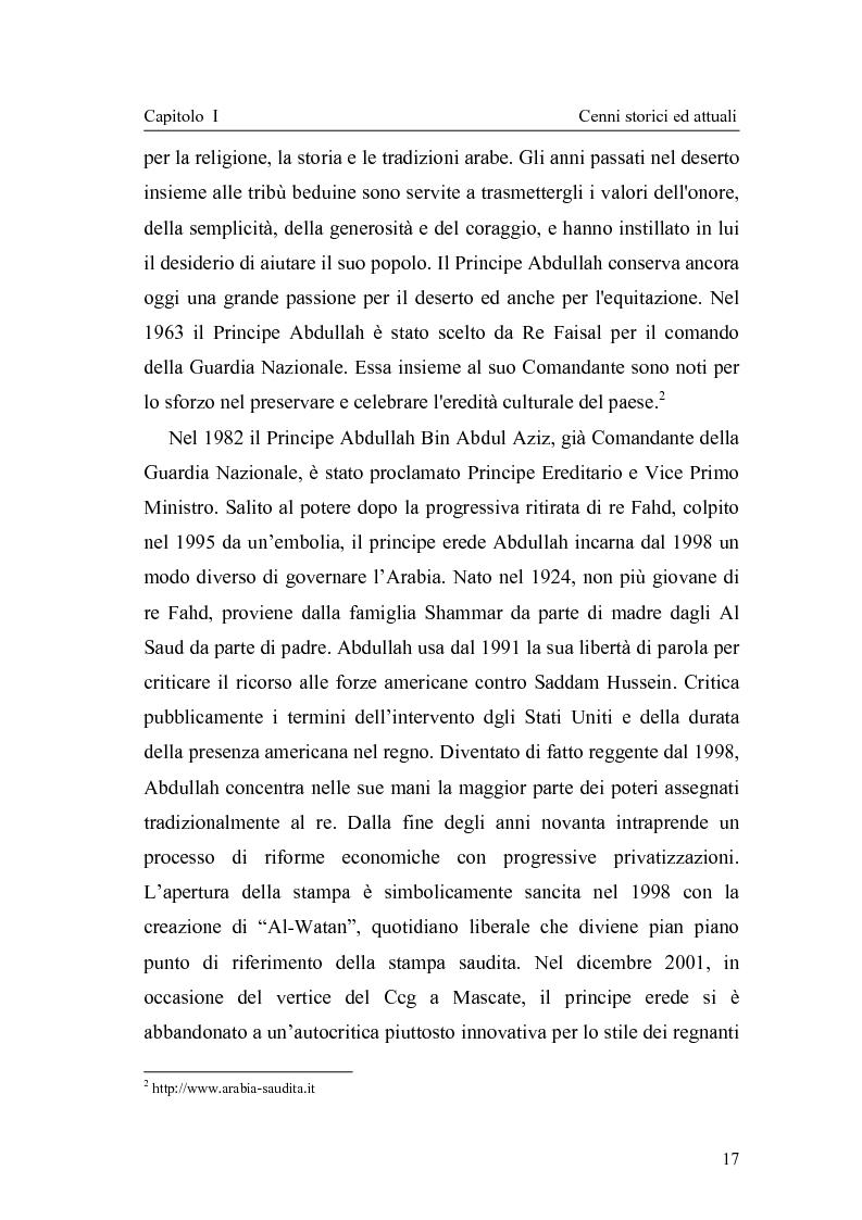 Anteprima della tesi: Gli attuali indirizzi di politica penale in Arabia Saudita, Pagina 12