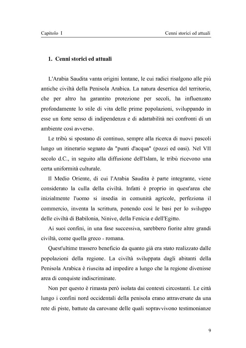 Anteprima della tesi: Gli attuali indirizzi di politica penale in Arabia Saudita, Pagina 4