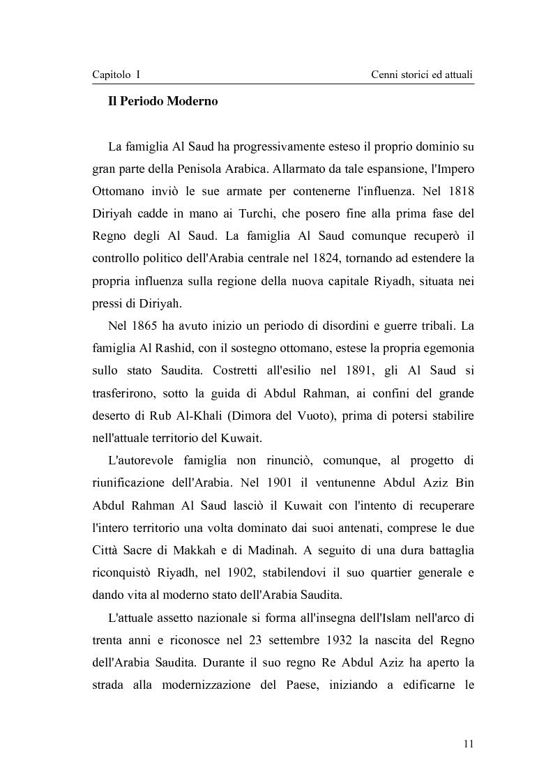 Anteprima della tesi: Gli attuali indirizzi di politica penale in Arabia Saudita, Pagina 6