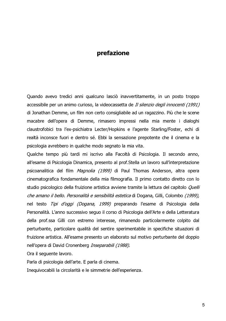 Anteprima della tesi: Un Corpo Altro - Il perturbante delle trasformazioni corporee nel cinema, Pagina 1
