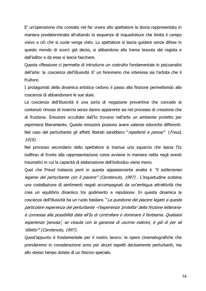 Anteprima della tesi: Un Corpo Altro - Il perturbante delle trasformazioni corporee nel cinema, Pagina 10