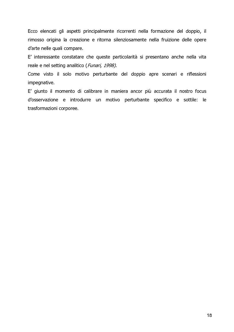 Anteprima della tesi: Un Corpo Altro - Il perturbante delle trasformazioni corporee nel cinema, Pagina 14