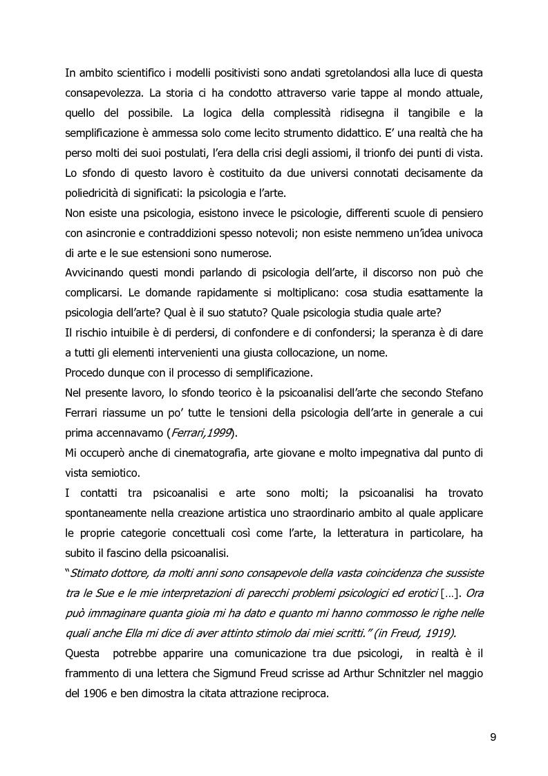 Anteprima della tesi: Un Corpo Altro - Il perturbante delle trasformazioni corporee nel cinema, Pagina 5