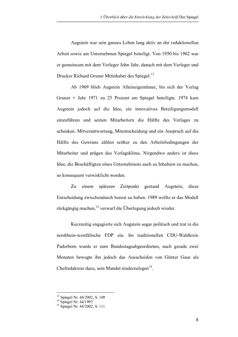 Anteprima della tesi: Analisi di una selezione di articoli dello Spiegel sull'11 settembre 2001 sulla base delle teorie di Norman Fairclough e Klaus Brinker (in lingua tedesca), Pagina 8