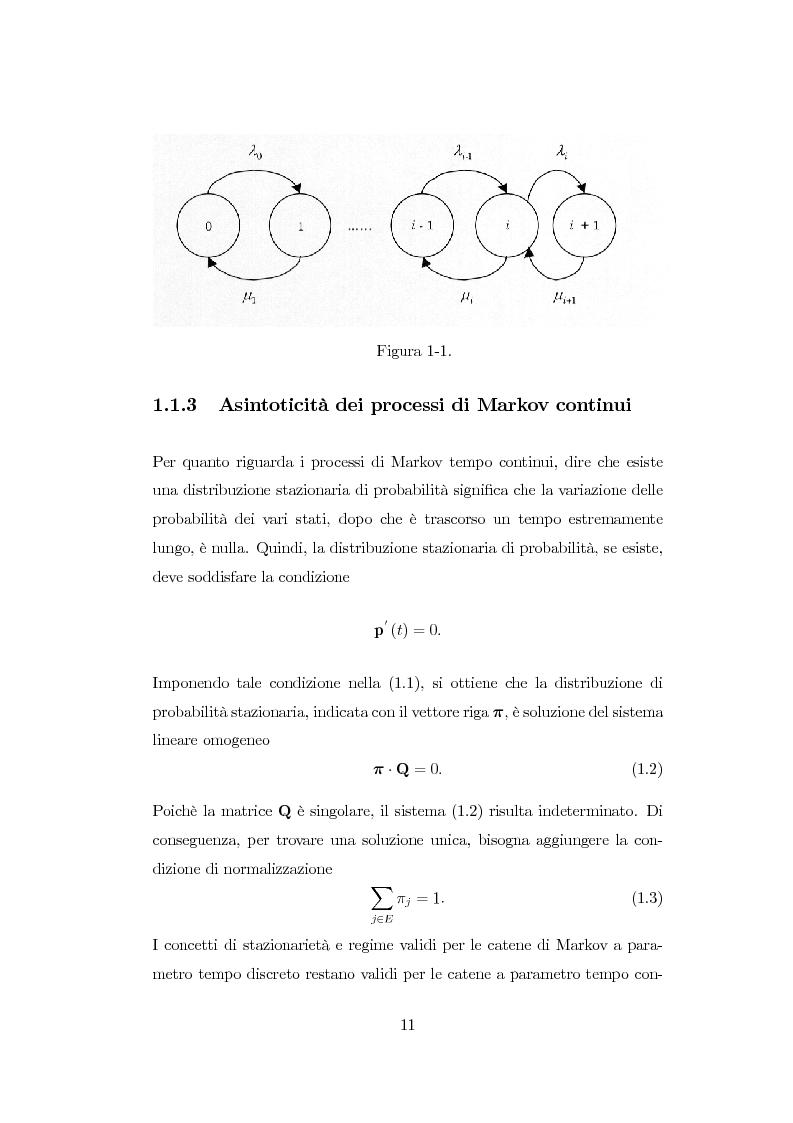Anteprima della tesi: Modellazione di reti di telecomunicazioni: reti tandem con utenti negativi, perdite e bloccaggio., Pagina 11