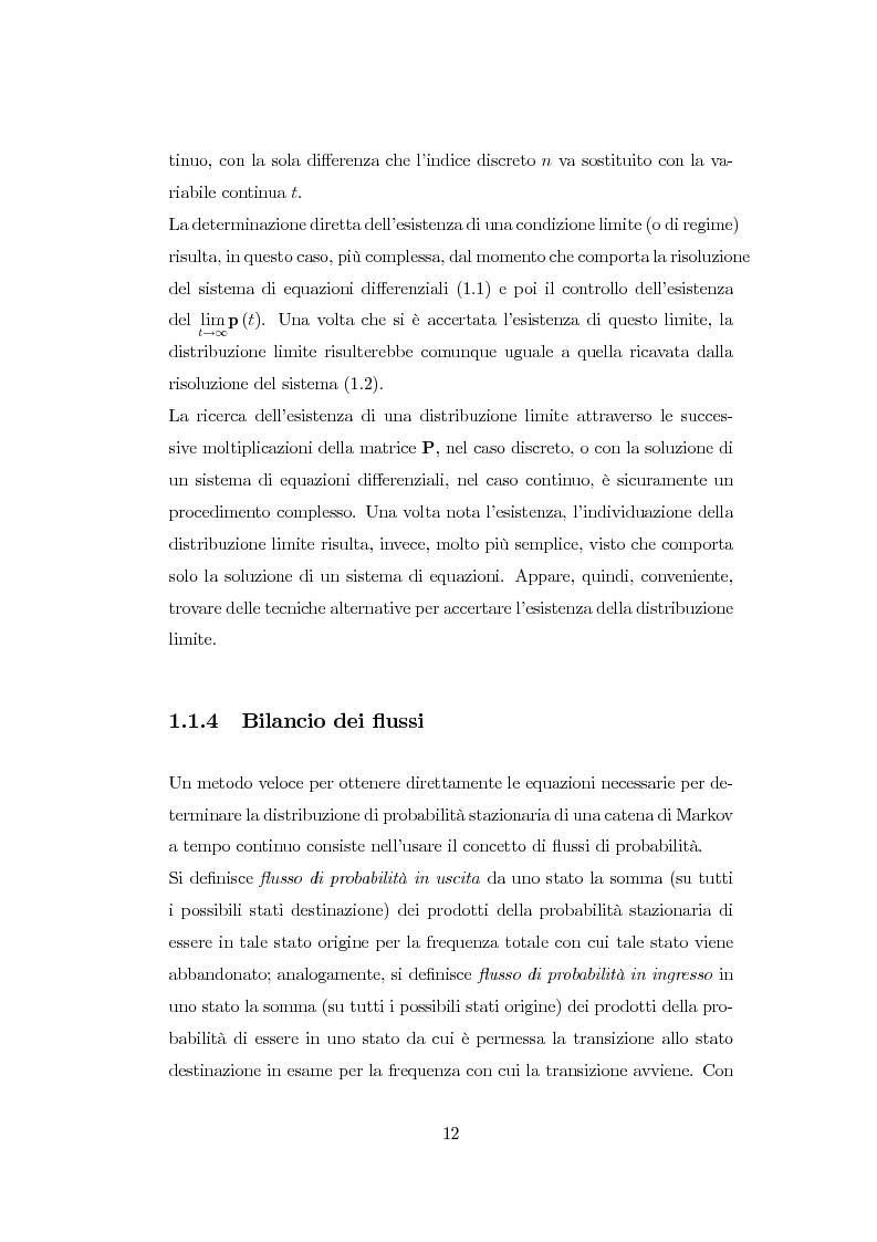 Anteprima della tesi: Modellazione di reti di telecomunicazioni: reti tandem con utenti negativi, perdite e bloccaggio., Pagina 12