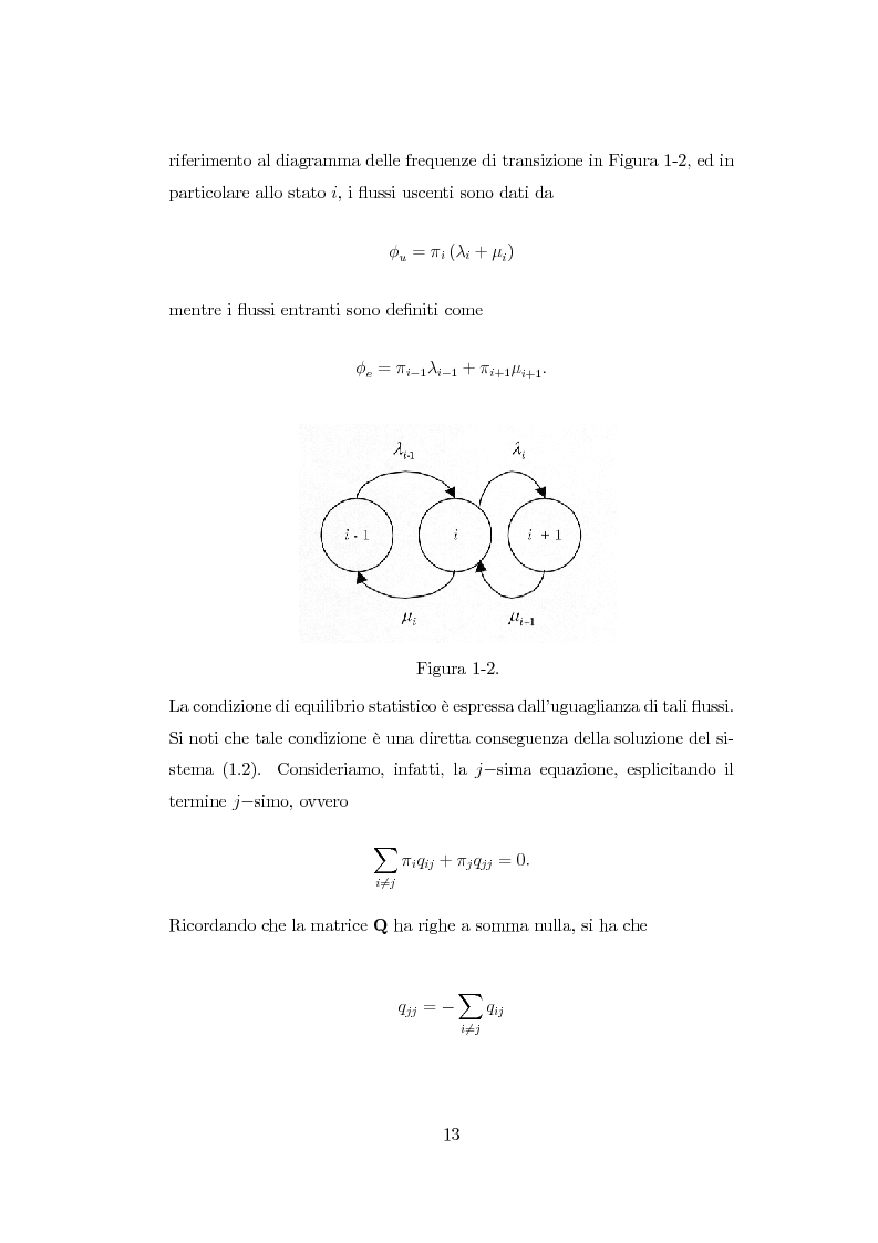 Anteprima della tesi: Modellazione di reti di telecomunicazioni: reti tandem con utenti negativi, perdite e bloccaggio., Pagina 13