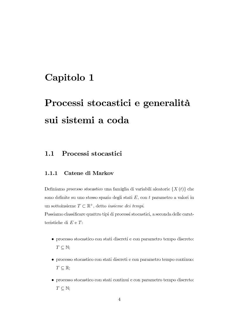 Anteprima della tesi: Modellazione di reti di telecomunicazioni: reti tandem con utenti negativi, perdite e bloccaggio., Pagina 4