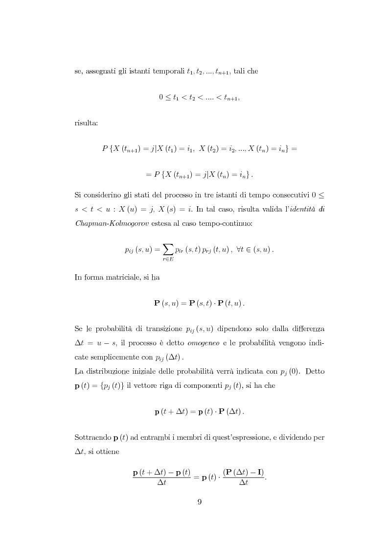 Anteprima della tesi: Modellazione di reti di telecomunicazioni: reti tandem con utenti negativi, perdite e bloccaggio., Pagina 9