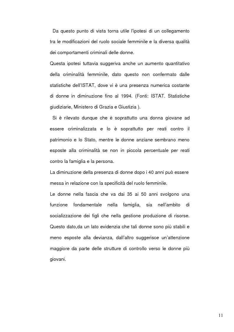 Anteprima della tesi: Donne e mafia, Pagina 10