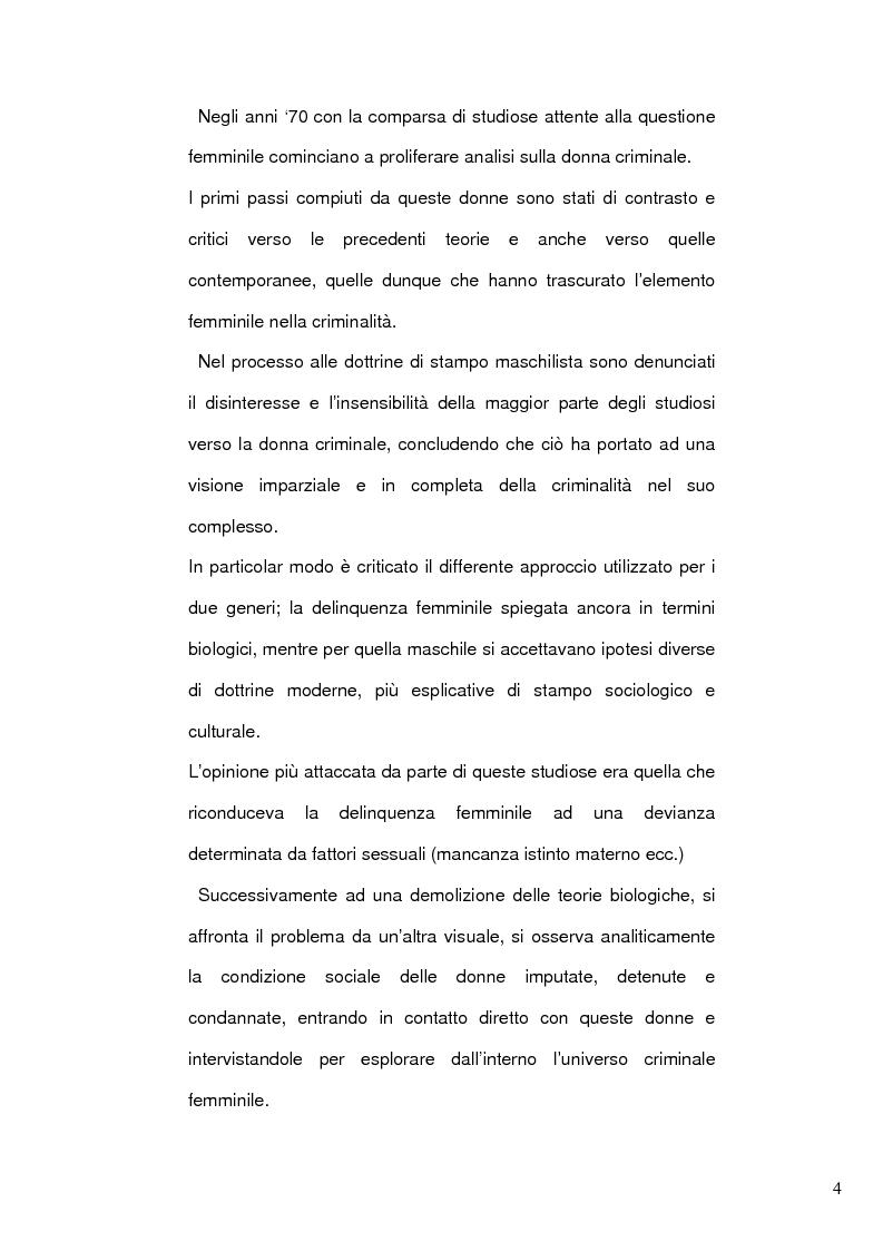 Anteprima della tesi: Donne e mafia, Pagina 3