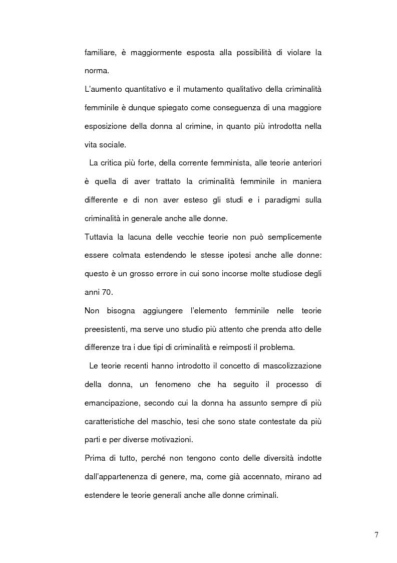 Anteprima della tesi: Donne e mafia, Pagina 6