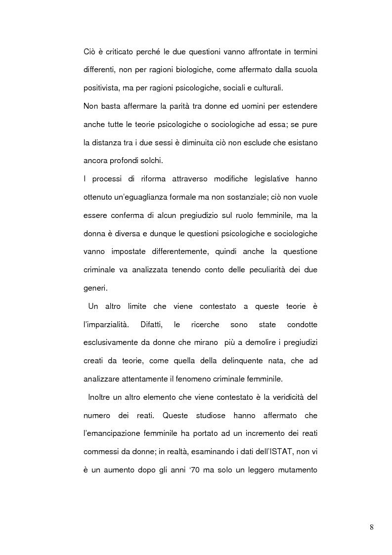 Anteprima della tesi: Donne e mafia, Pagina 7