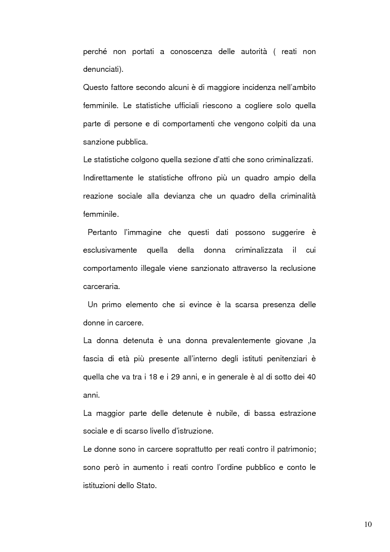 Anteprima della tesi: Donne e mafia, Pagina 9