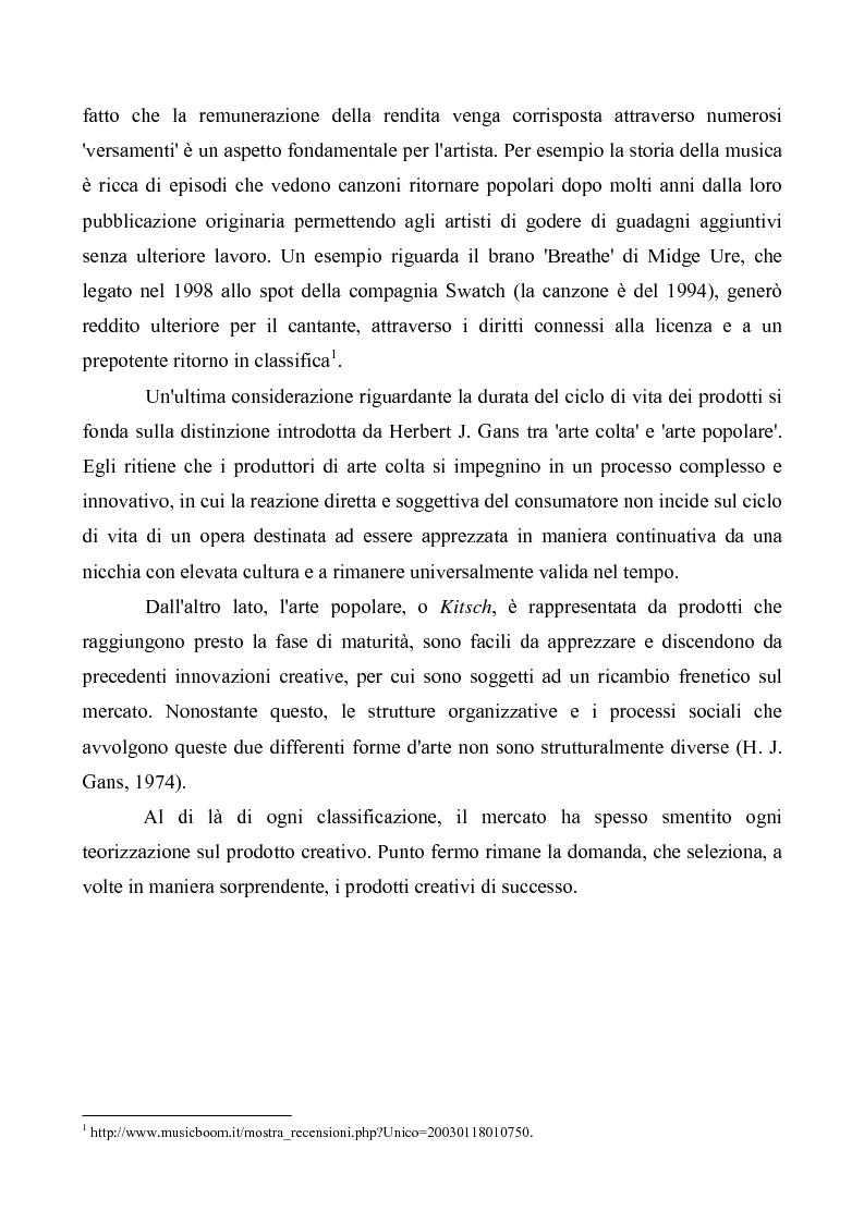Anteprima della tesi: Crisi e cambiamenti nel settore fonografico. Impatto su fruitori e distributori di musica, Pagina 10