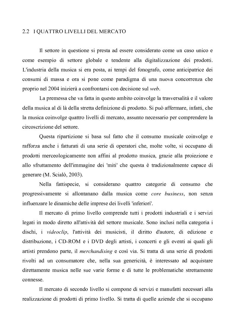 Anteprima della tesi: Crisi e cambiamenti nel settore fonografico. Impatto su fruitori e distributori di musica, Pagina 11