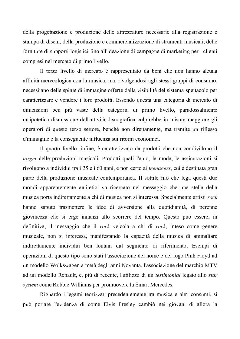 Anteprima della tesi: Crisi e cambiamenti nel settore fonografico. Impatto su fruitori e distributori di musica, Pagina 12