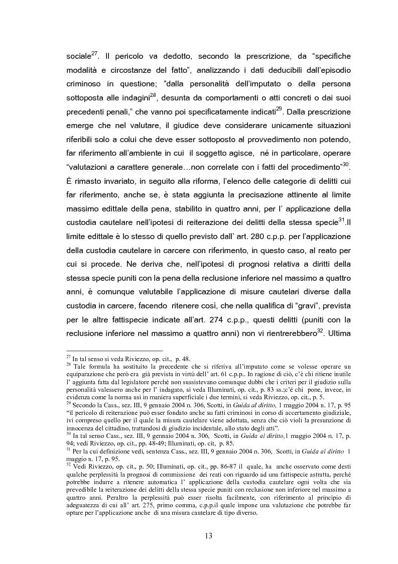 Anteprima della tesi: Il tribunale del riesame, Pagina 11