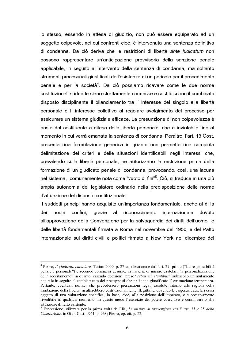 Anteprima della tesi: Il tribunale del riesame, Pagina 4