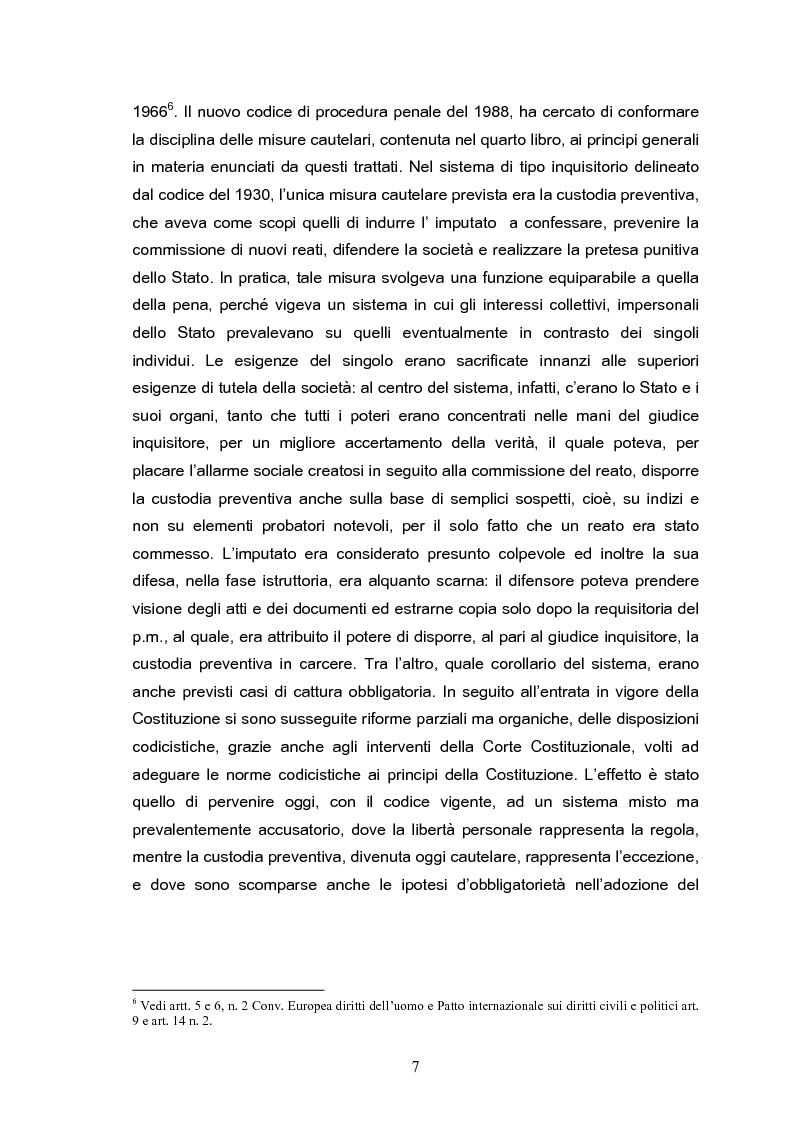 Anteprima della tesi: Il tribunale del riesame, Pagina 5