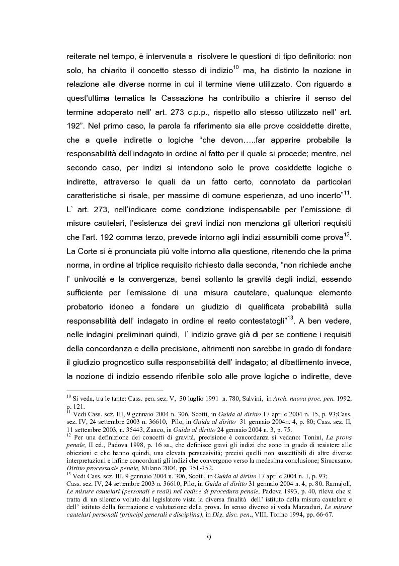 Anteprima della tesi: Il tribunale del riesame, Pagina 7