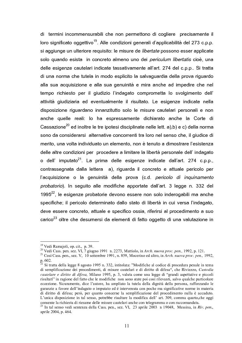 Anteprima della tesi: Il tribunale del riesame, Pagina 9