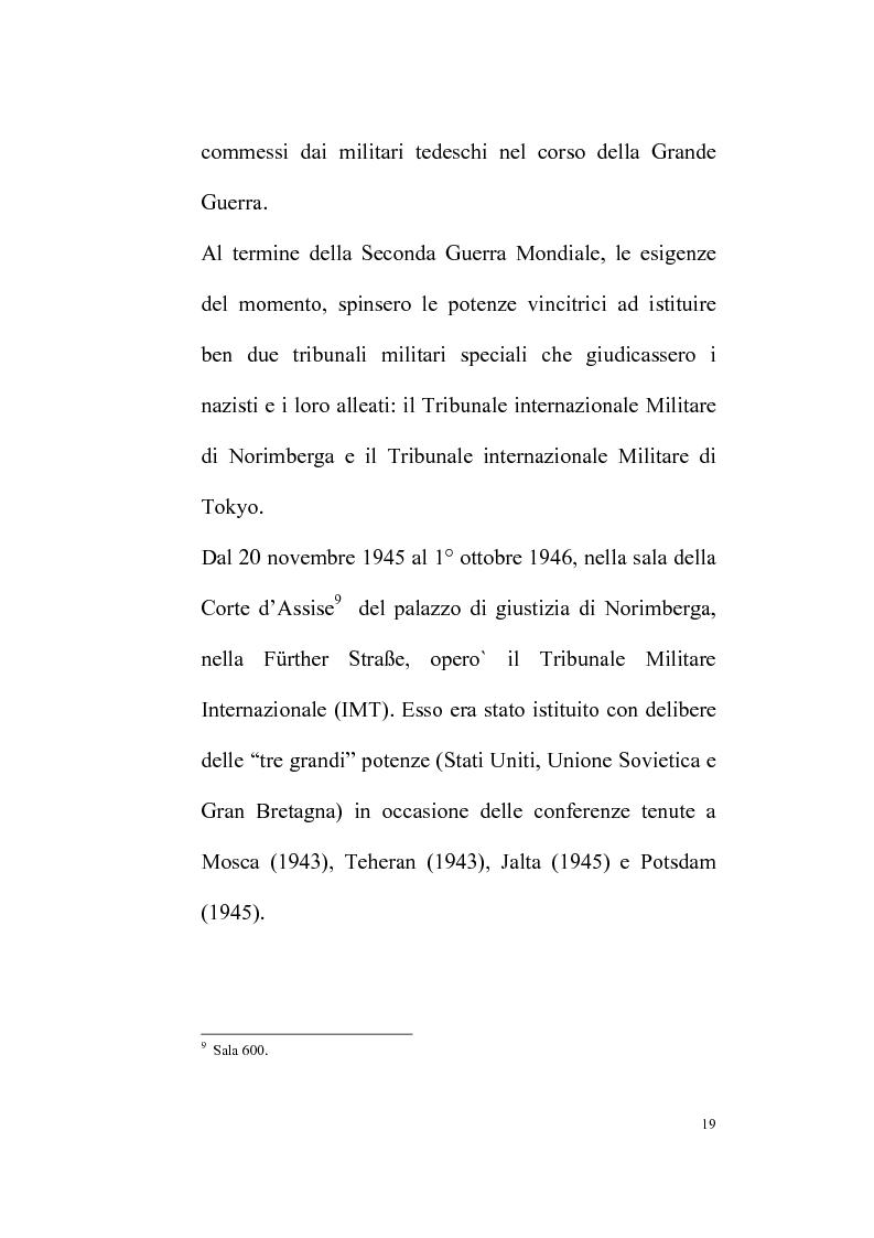 Anteprima della tesi: Il Tribunale Penale Internazionale, Pagina 14