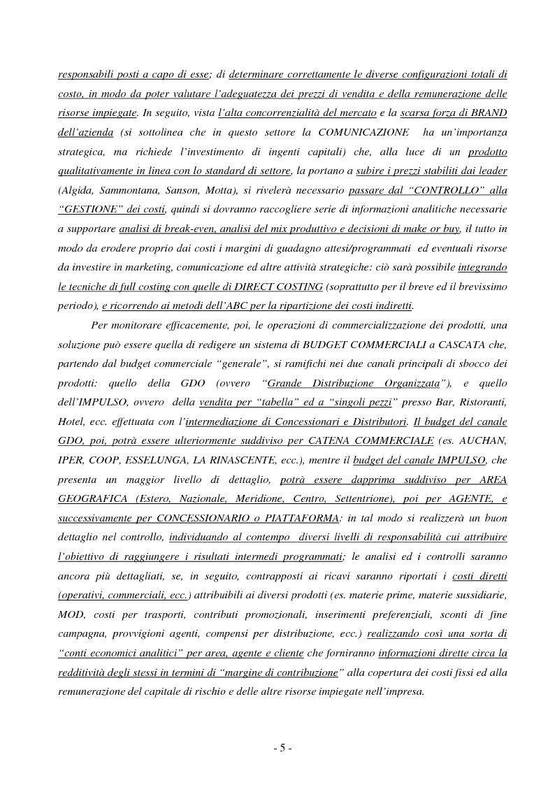 Anteprima della tesi: Il controllo di gestione nelle PMI: il caso GIS S.p.A., Pagina 5
